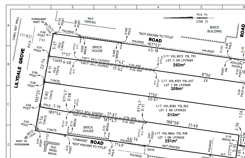 Lilydale Grove Plan
