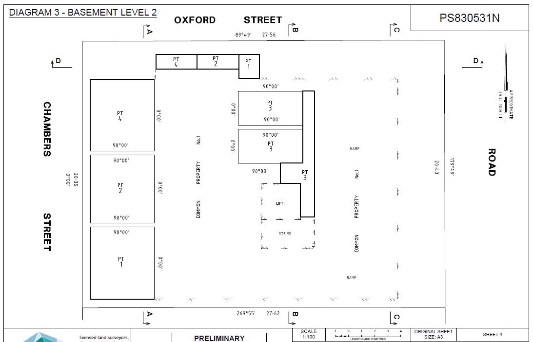 Chambers Street Plan